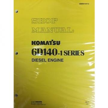 Komatsu 6D140-1  Series Engine Factory Shop Service Repair Manual