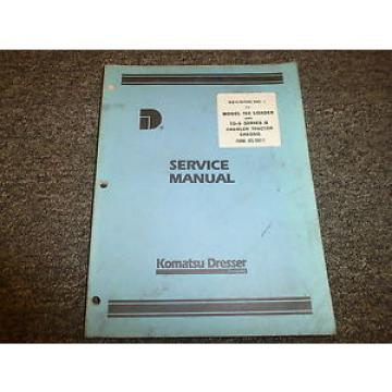 Komatsu Dresser D239 DT239 Diesel Engine Parts Catalog Manual Book