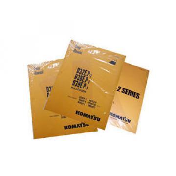 Komatsu Service PC1800-6 Hydraulic Excavator Manual