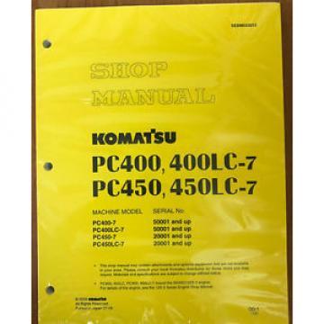 Komatsu Service PC400-7, PC400LC-7, PC450-7/LC-7 Manual