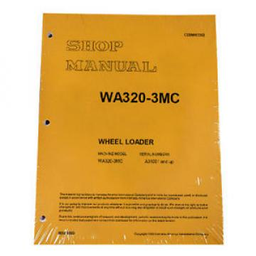 Komatsu WA320-3MC Wheel Loader Service Repair Manual #1
