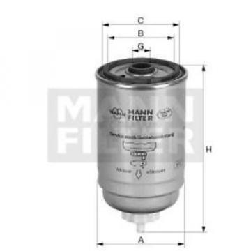 Original MANN-FILTER Kraftstofffilter WK 842/2 (10) Fuel Filter