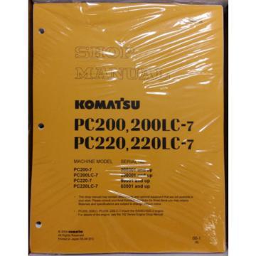 Komatsu Service PC200-7/PC200LC-7/PC220-7/LC-7 Manual