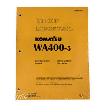 Komatsu WA400-5 Wheel Loader Service Repair Manual