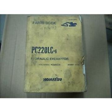 Komatsu Parts Book PC220LC-6