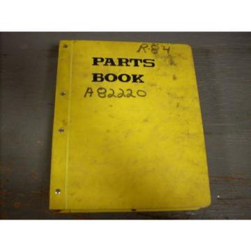 Komatsu Parts Book PC220LC-6 Hydraulic Excavator