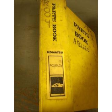 Komatsu Parts Book PC220LC-6  Excavator