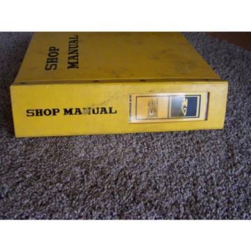 Komatsu PC100-6 40001- PC120-6 45001- Hydraulic Excavator Service Shop Manual