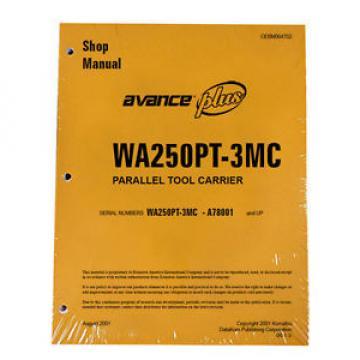 Komatsu WA250PT-3MC Wheel Loader Service Repair Manual