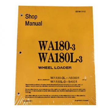 Komatsu WA180-3, WA180L-3 Service Repair Manual
