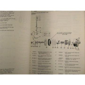 KOMATSU DRESSER TD-9 SERIES B CRAWLER TRACTOR BULLDOZER PARTS BOOK MANUAL 1974