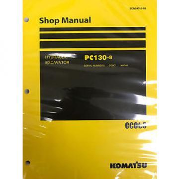 Komatsu PC600-8 PC600LC-8 Shop Service Repair Printed Manual