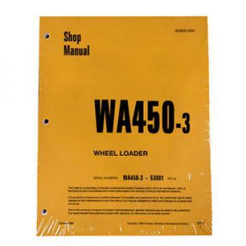 Komatsu WA450-3 Wheel Loader Service Repair Manual #1