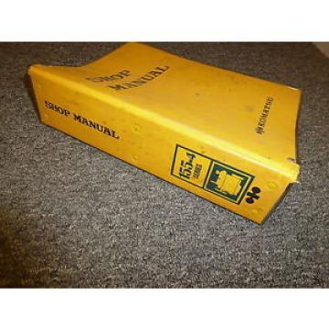 KOMATSU S6D155G-4 S6D155-4A Engines Shop Service Repair Manual Guide Book