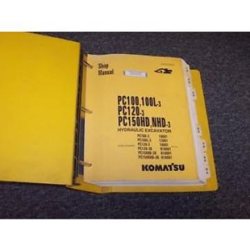 Komatsu PC150HD-3 PC150NHD-3 Hydraulic Excavator Shop Service Repair Manual Book