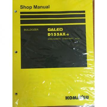 Komatsu D155AX-6 Crawler Tractor Dozer Bulldozer Shop Repair Service Manual