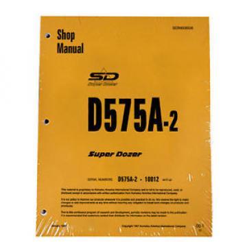 Komatsu D575A-2 Dozer Service Repair Workshop Printed Manual #3