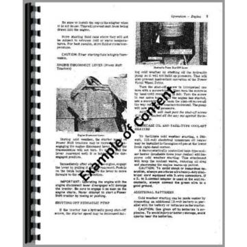 Komatsu WA180-1 Diesel Wheel Loader Chassis Only Service Manual s/n 10001 & up