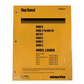 Komatsu WA65-3/WA75-3/WA85-3/WA90-3/WA95 Service Manual