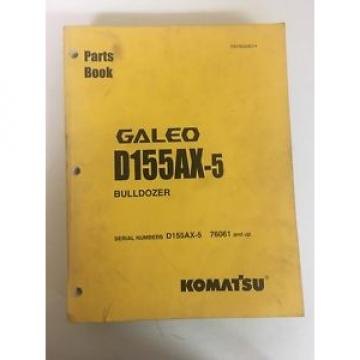 Galeo Komatsu D155AX-5 Bulldozer D155AX 76061 And Up