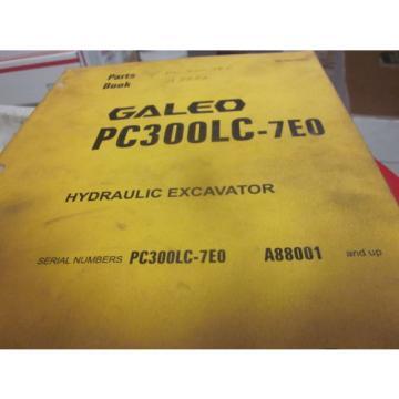 Komatsu PC300LC-7EO Hydraulic Excavator Parts Book Manual