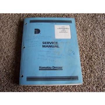 Komatsu Dresser 2400- 2500 A B Wheel Tractor Chassis Factory Service Shop Manual