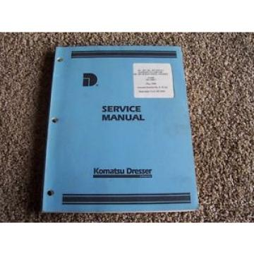 Komatsu Dresser 221 263 291 301 Diesel Engines Factory Service Shop Manual