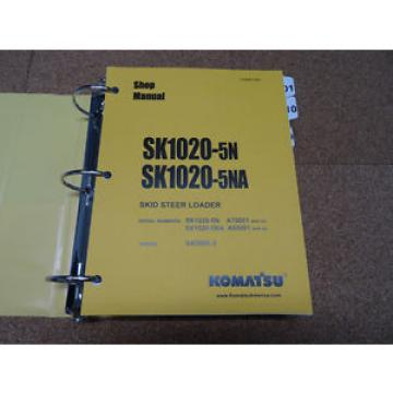Komatsu SK1020-5N, SK1020-5NA Skid-Steer Loader Service Shop Repair Manual