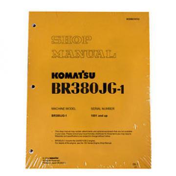 Komatsu Service BR380JG-1 Mobile Crusher Repair Manual