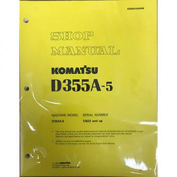 Komatsu D355A-5 Service Repair Workshop Printed Manual