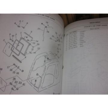 Komatsu PC250LC-6 Hydraulic Excavator Parts Book Manual