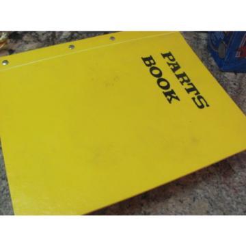 KOMATSU GALEO HYDRAULIC EXCAVATOR PARTS BOOK PC200LC-7L A86001 BEPB009700