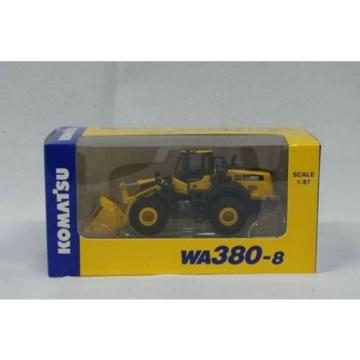 NEW Komatsu Official WA380-8 1/87 Wheel Loader diecast model F/S