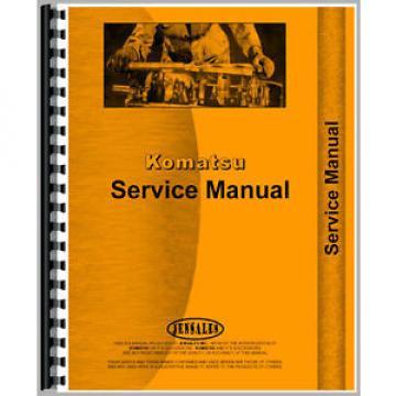 New Komatsu D21A-6 Bulldozer Chassis Service Manual