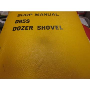 Komatsu D95S Dozer Shovel Repair Shop Manual