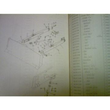 Komatsu D65A-34001 up D65P-32001 up Bulldozer Parts Book Catalog