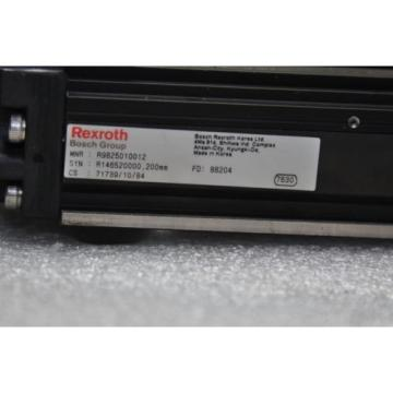 BOSCH Canada Singapore REXROTH  R146520000  Linear Actuator 300L Stroke 58mm, Pitch 2.5mm