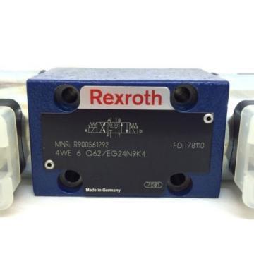 Hydraulic Mexico Canada Directional Valve 4WE6Q62/EG24N9K4 Bosch Rexroth 4WE-6-Q62/EG24N9K4