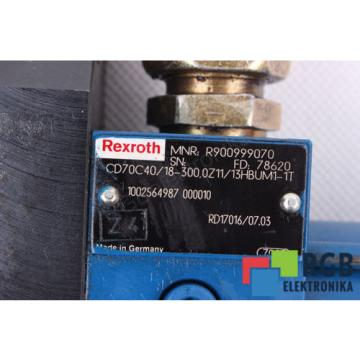 STELLANTRIEB China India CD70C40/18-300.0Z11/13HBUM1-1T R900999070 REXROTH ID28644