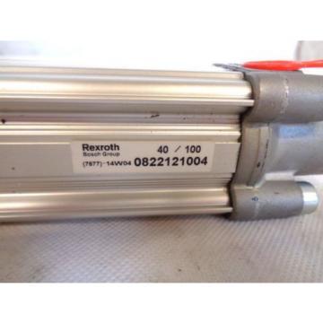 NEW Singapore USA REXROTH 0822121004 100MM 40 MM PNEUMATIC CYLINDER
