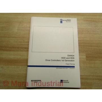 Rexroth Mexico Mexico Indramat DOK-DIAX04-HDD+HDS Project Planning Manual (Pack of 10)