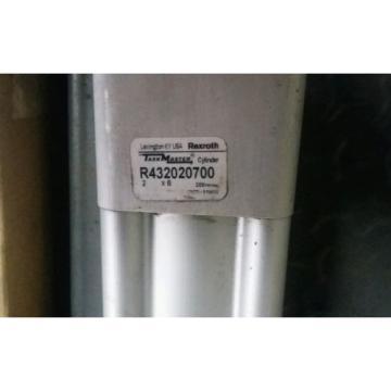 (2) Canada India NEW REXROTH TASKMASTER TM-121000-03060 PNEUMATIC AIR CYLINDER 2 X 6