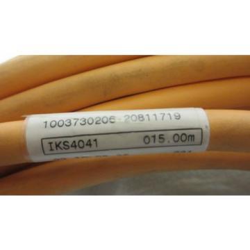 Rexroth Dutch Egypt Indramat IKS 4041 15m Steuerleitung Steuerkabel