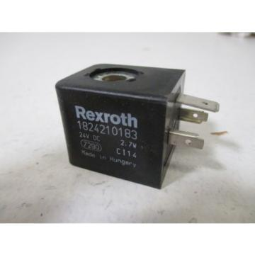 REXROTH Japan Italy 1824210183 COIL 24VDC *NEW IN BOX*