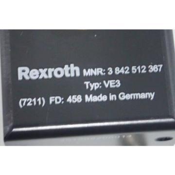 Bosch Japan Egypt Rexroth P# 3842512367 Stop Gate Transfer VE3 3 842 512 367 (Lot of 2pc.)