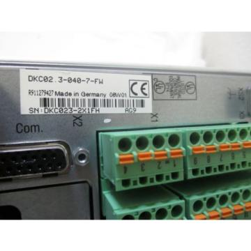 Indramat Egypt India Rexroth DKC02.3-040-7-FW Ecodrive  new