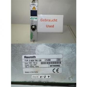 Rexroth Germany France  LTU350  servo amplifier  0 608 750 108   , 0608750108