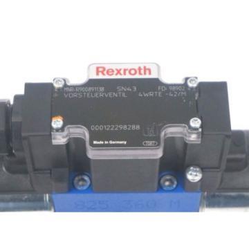 REXROTH India Australia 4WRTE-42/M PROPORTIONAL SERVO VALVE R900891138 , R900725995 REPAIRED