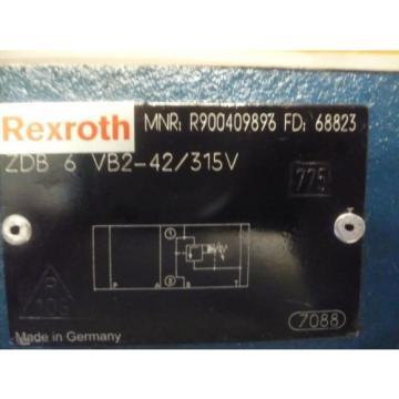 New Italy Egypt Rexroth R900409896 ZDB 6 VB2-42/315V ZDB6VB2-42/315V Valve