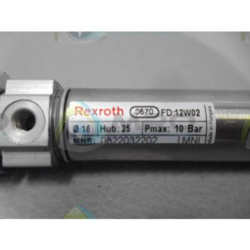 REXROTH Egypt India 0670-0822032202 CYLINDER *NEW NO BOX*